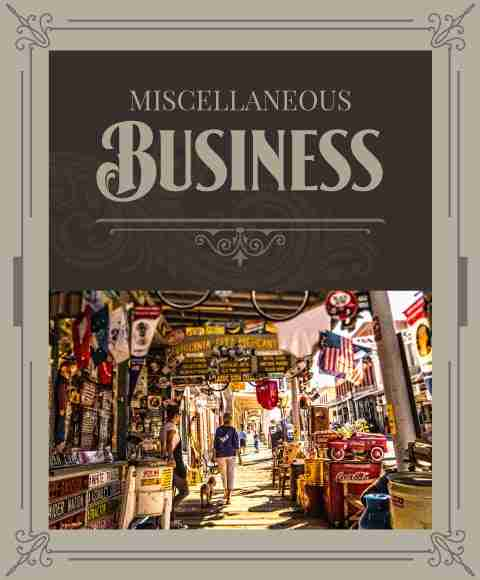Miscellaneous Businesses