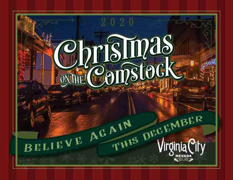 Christmas on the Comstock Brochure