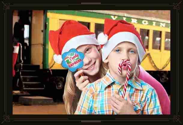 Candy Cane Express Train