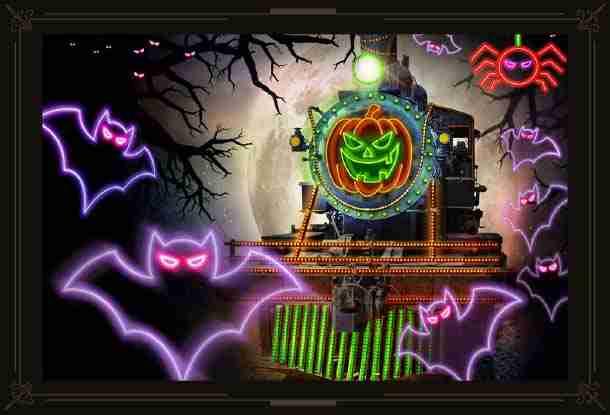 Electric Halloween Train