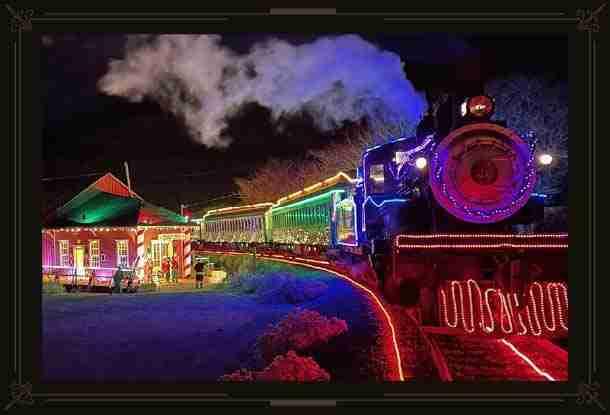 Electric Holidy Train O'Lights